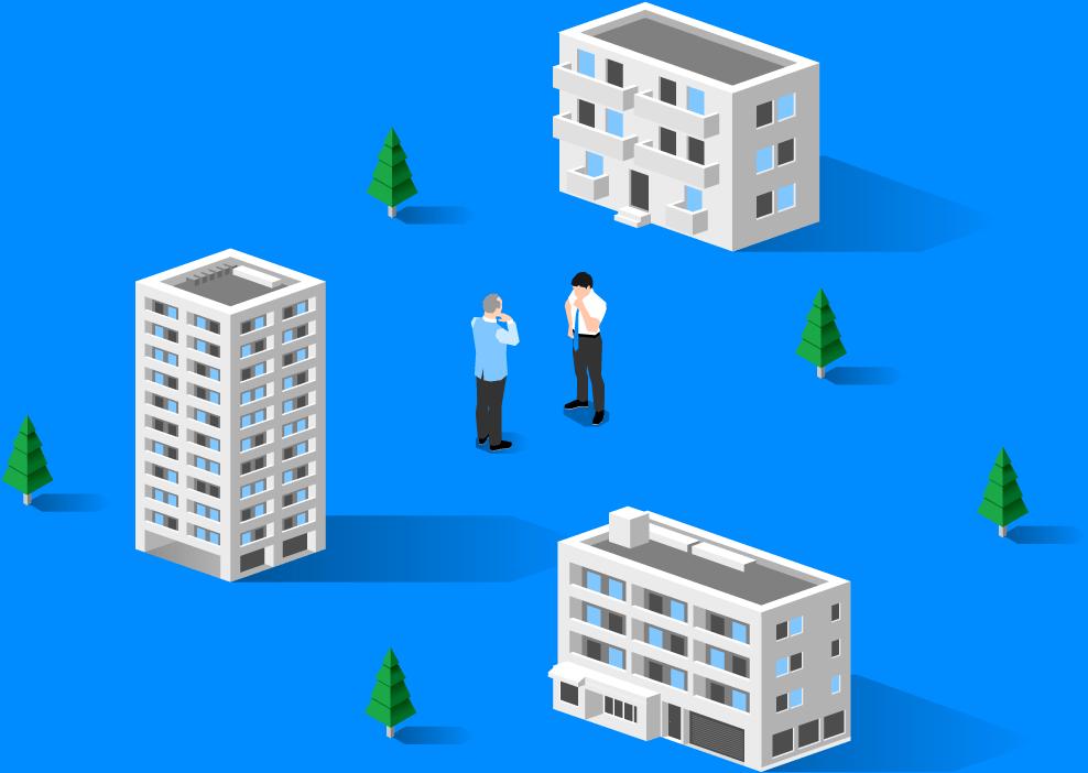 地域の空室問題を、地域の不動産企業と解決する